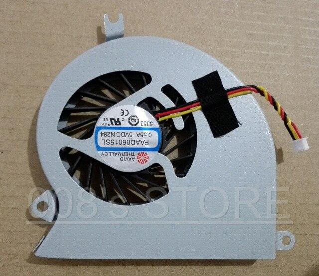 Оригинальный Новый Ноутбук ПРОЦЕССОРА Вентилятор Охлаждения Для MSI GE40 MS-1492 X460 X460DX MS-1491 X460DX-216US X460DX-291US PAAD06015SL A101 N284