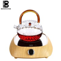 220V Japanese style Electric Ceramic Heat Resistant Glass Teapot Heater Chinese Kung Fu Tea Set Accessories Stove Home Drinkware