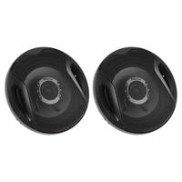 2Pcs 6 400W 2 Way Coaxial Speaker Car Audio Refitting Loud Speakers Automobiles Subwoofer Loudspeaker Auto