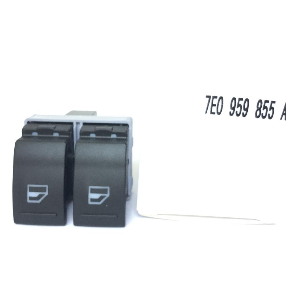 FOR VW Transporter T5 T6 7E0959855A Electric Window Switch Driver Side OE # 7E0 959 855A 7E0 959 855 A 9B9