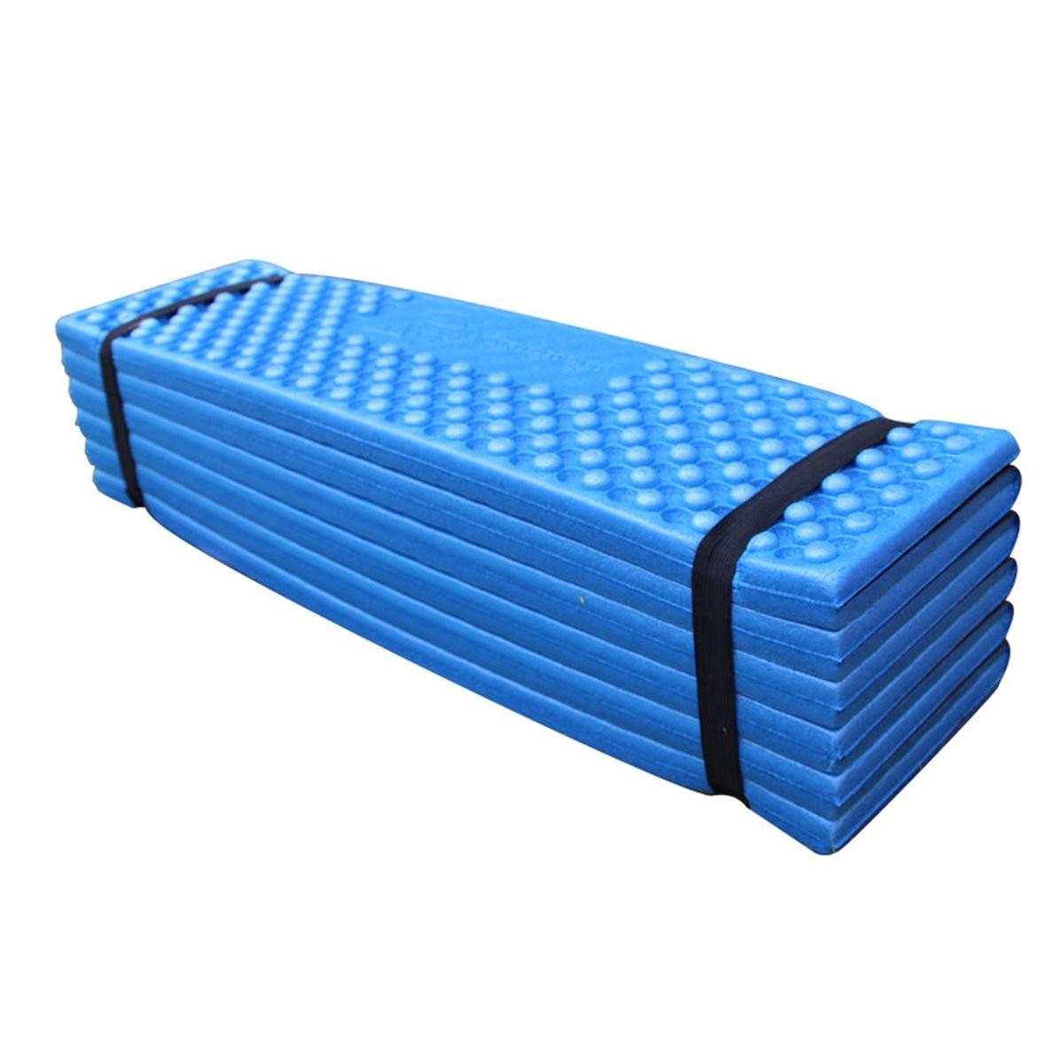 pad 190 Semoo self-inflating camping sleeping mat/pad, 190t polyester, water  repellent  koolsen camping sleeping pad self inflating with attached  pillow.