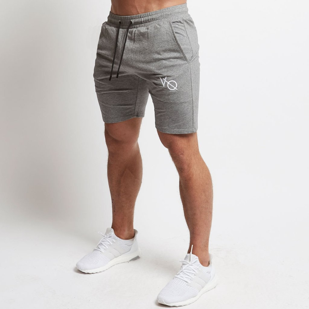 Mens Cotton Shorts Calf-length Gyms Fitness Bodybuilding Casual Joggers Workout Brand Sporting Vanquish Sweatpants Sportswear