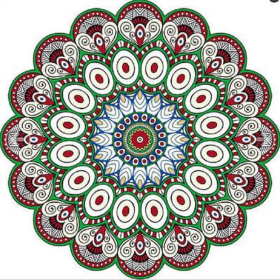 2017 Indian Mandala Throw Tapestries Round Roundie Toalla de playa - Ropa de mujer - foto 5
