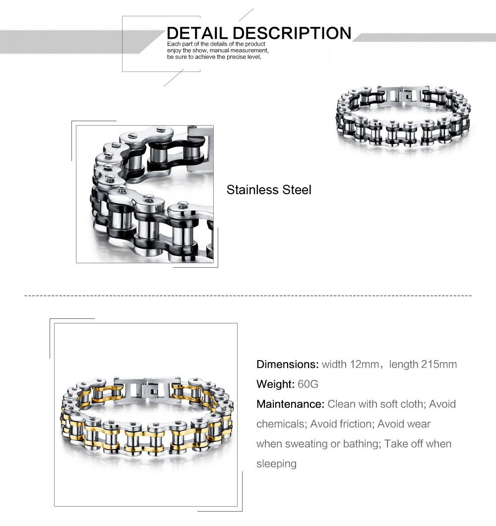 браслеты и прохладный для мужчин байкер велосипедов мотоцикл цепи для мужчин в браслеты модные ювелирные изделия 4 цвета нержавеющая сталь марки 316L jm781j