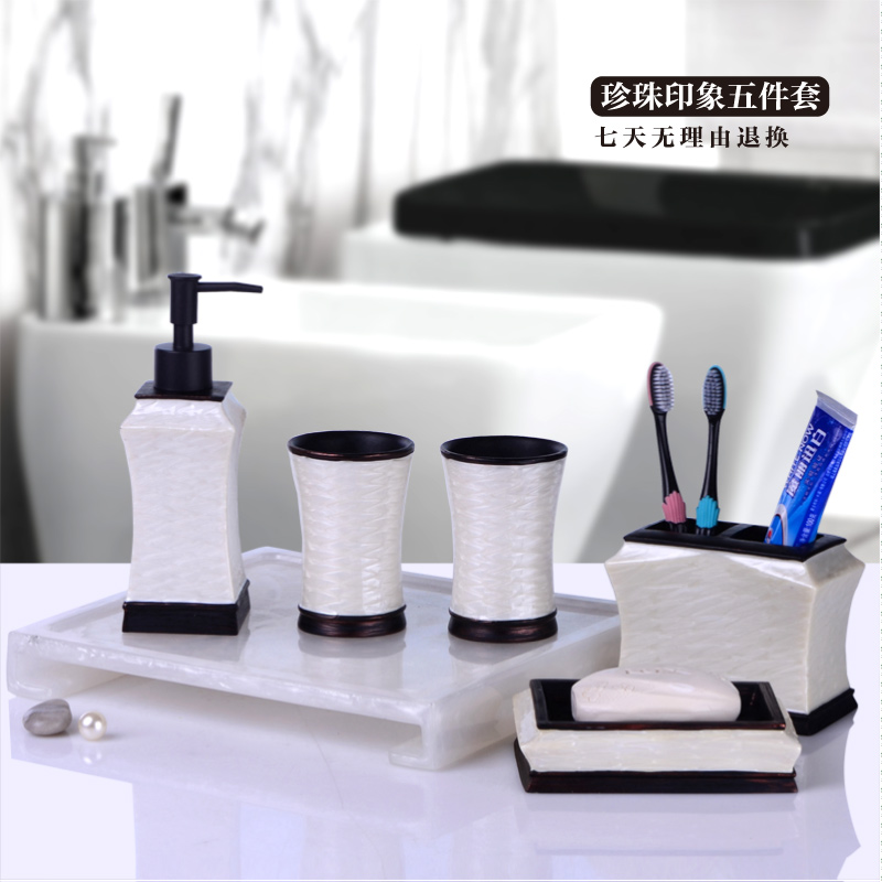 2017 bathroom set bathroom set european minimalist suite for Bathroom decor kit