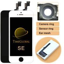 TIMEWAY per iPhone SE schermo LCD nessun Pixel morto sostituzione Display LCD per telefono cellulare con Touch Screen Digitizer Assembly