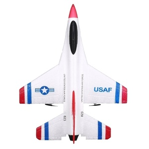 Image 3 - New Design 290mm Wingspan EPP RC Fixed Wing Airplane RTF  2.4G 2CH Glider Model FX 823