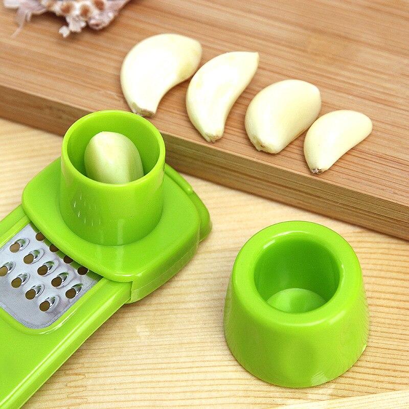 Kitchen multifunctional ginger garlic grinder Accessories Plastic Ginger Garlic Grinding Tool Magic Peeler Slicer Cutter