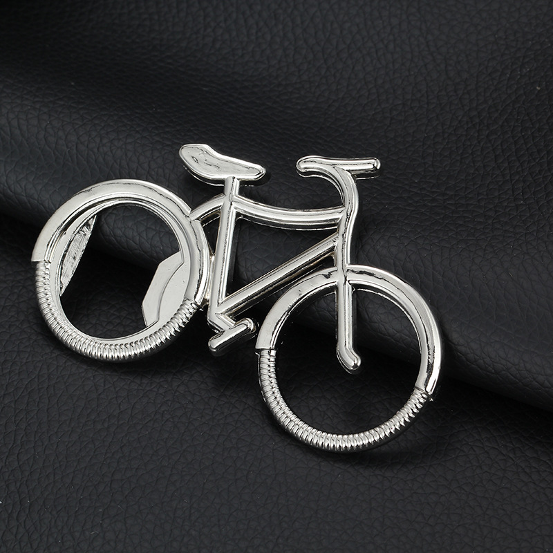 Bicycle Metal Beer Bottle Opener Home Decoration Cute Key Ring Small Crafts Anniversary Gifts for lovers