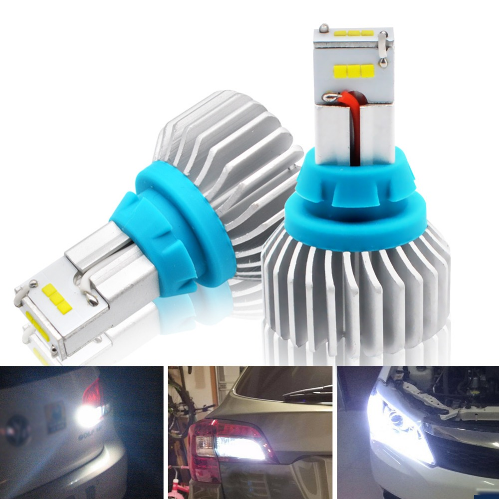 Signal Lamp Car Lights Competent Safego T15 T16 T20 90w Reverse Lights Csp 9-smd 5400lm Car Led Backup Lamp Canbus Error Free 12v Led Headlight Lamp 6500k 2019 Official