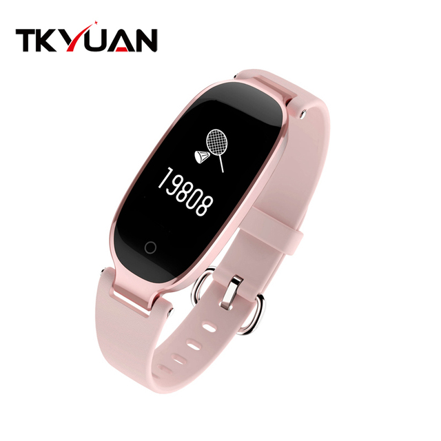 TKYUAN S3 new Ladies elegance smart bracelet  heart rate lady multi-sport waterproof bluetooth wearable step health