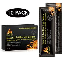 10Pcs/Box Fat burn hot paste tight abs ma3 jia3 line burning fat soluble fat reduction grease used for men's and women's fitness цена