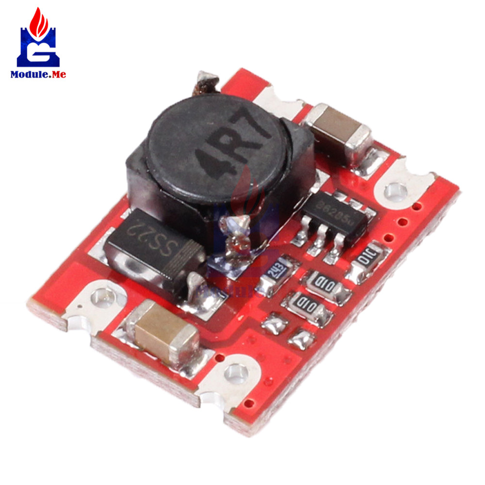 DC-DC 2V-5V to 5V Step Up Boost Power Supply Module Voltage Converter Board 2A Fixed Output For Dry Lithium Battery Board