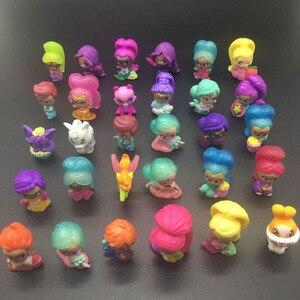 Image 3 - 20 pièces/lot miroitant Figure jouet en plastique Mini Action modèle jouet pour filles jouet cadeau