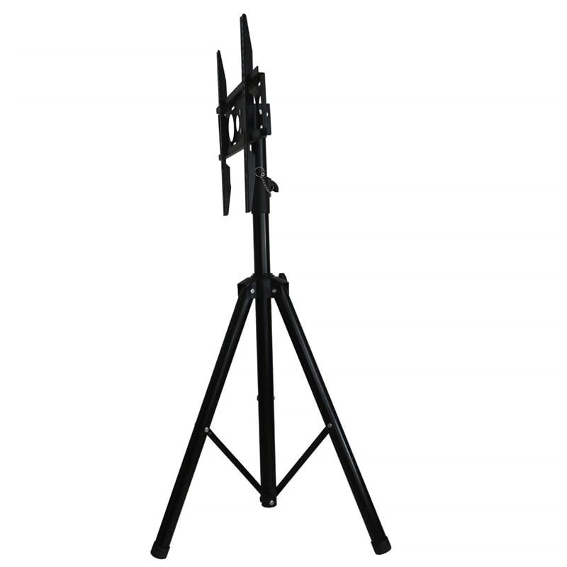 Height Adjustable TV Floor Tripod Stand 15kg Tilt Swivel LCD Monitor Portable Tripod Mount Mobile TV Lift Holder VESA 400x400mm-in TV Mount from Consumer Electronics    3