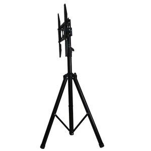 Image 3 - Height Adjustable TV Floor Tripod Stand 15kg Tilt Swivel LCD Monitor Portable Tripod Mount Mobile TV Lift Holder VESA 400x400mm