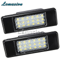 1Pair Car LED number License Plate Light 12V SMD LED lamp Car Styling For Peugeot 307 308 407 207 3008 508 For Citroen C4 C5 C3