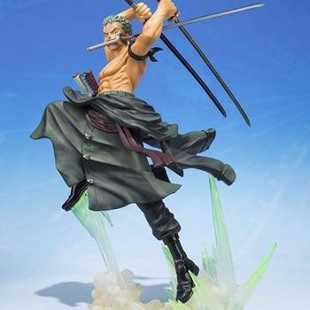 Anime One Piece 19cm Roronoa Zoro Action Figure Collection Model Toy