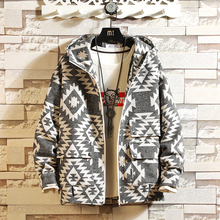 Wool Mens Jackets and Coats Spring Autumn Fashion Casual Hoodie Zipper