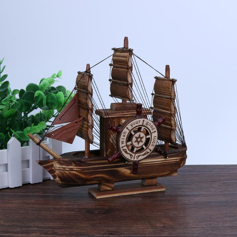 Children Adult Toy Vehicles Sailboat Model with Music