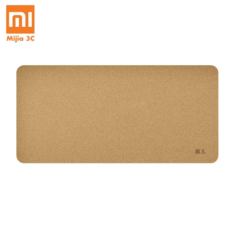 Xiaomi Youpin Big Mouse Pad Oak Wood Grain Waterproof Material Computer Laptop Desk Pad For Office Gaming Anti-slip Mouse-pad