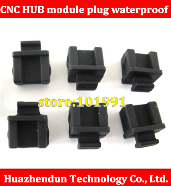 500pcs FP-B CNC HUB optical digital switch module interface module plug waterproof soft silicone dust cover Stopper