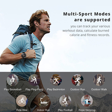Waterproof Round Smart Watch with Multi-Sport Modes