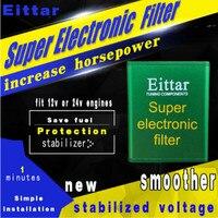 Para Porsche Car styling Auto Super Chips de Desempenho Do Filtro Eletrônico Carro Pick Up Fuel Saver Estabilizador de Tensão