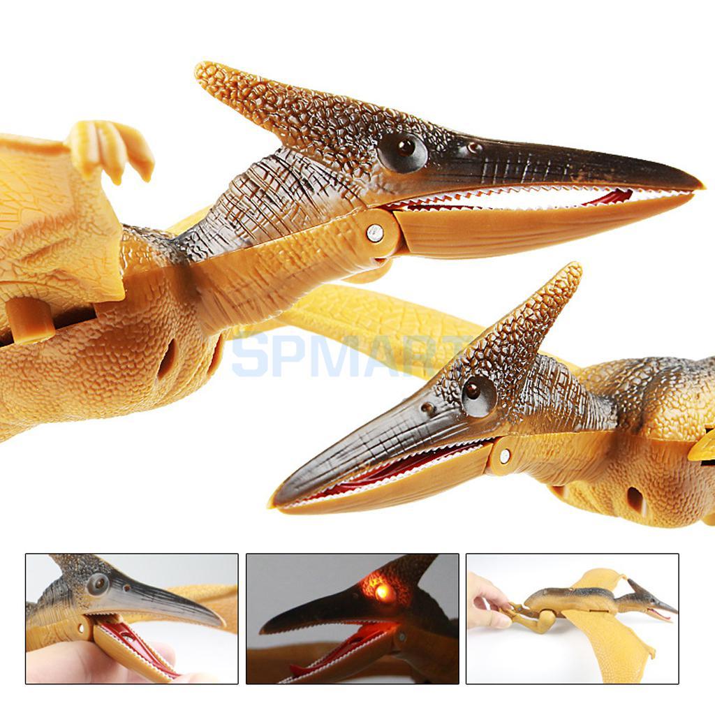 Dino Island Jurassic World Dinosaur Pterosaur Model Toy with Light & Sound