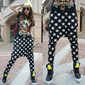 Olrain Women Fashion Loose Pencil Pant Harem Pants Drop Crotch Hip Hop Pants Slim Cross-pants