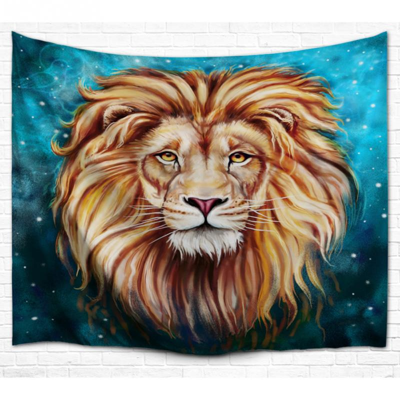 Aliexpress.com : Buy Lion King Face Tapestry 100