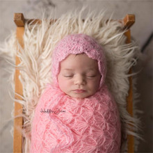 Newborn photography props,handmade mohair wrap props