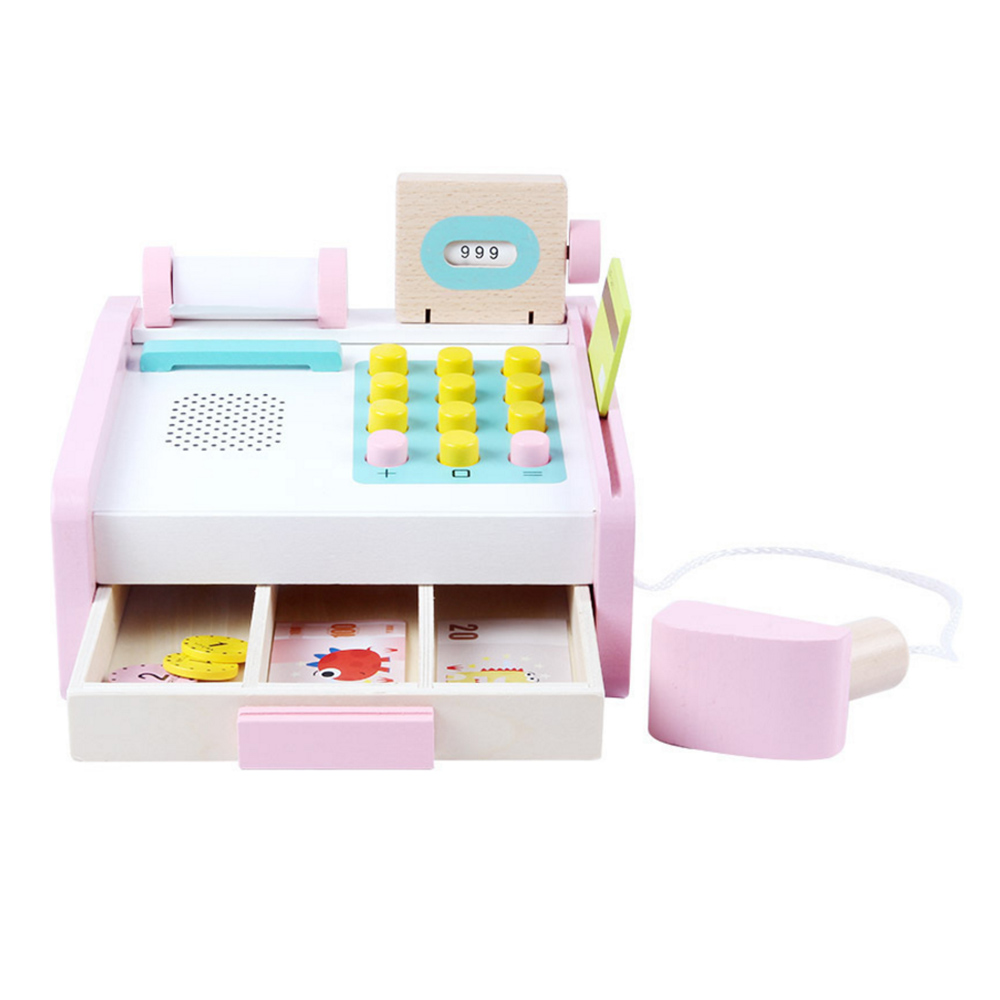 Kids Electronic Supermarket Cash Register Toys Children Learning Education Pretend Play SetKids Electronic Supermarket Cash Register Toys Children Learning Education Pretend Play Set
