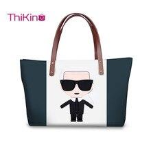 Thikin Karl Lagerfelds Handbags Women Travel Large Shouerbag Wallet Girls Purse Leather Storage Notecase Cute Pet Zipper Mochila
