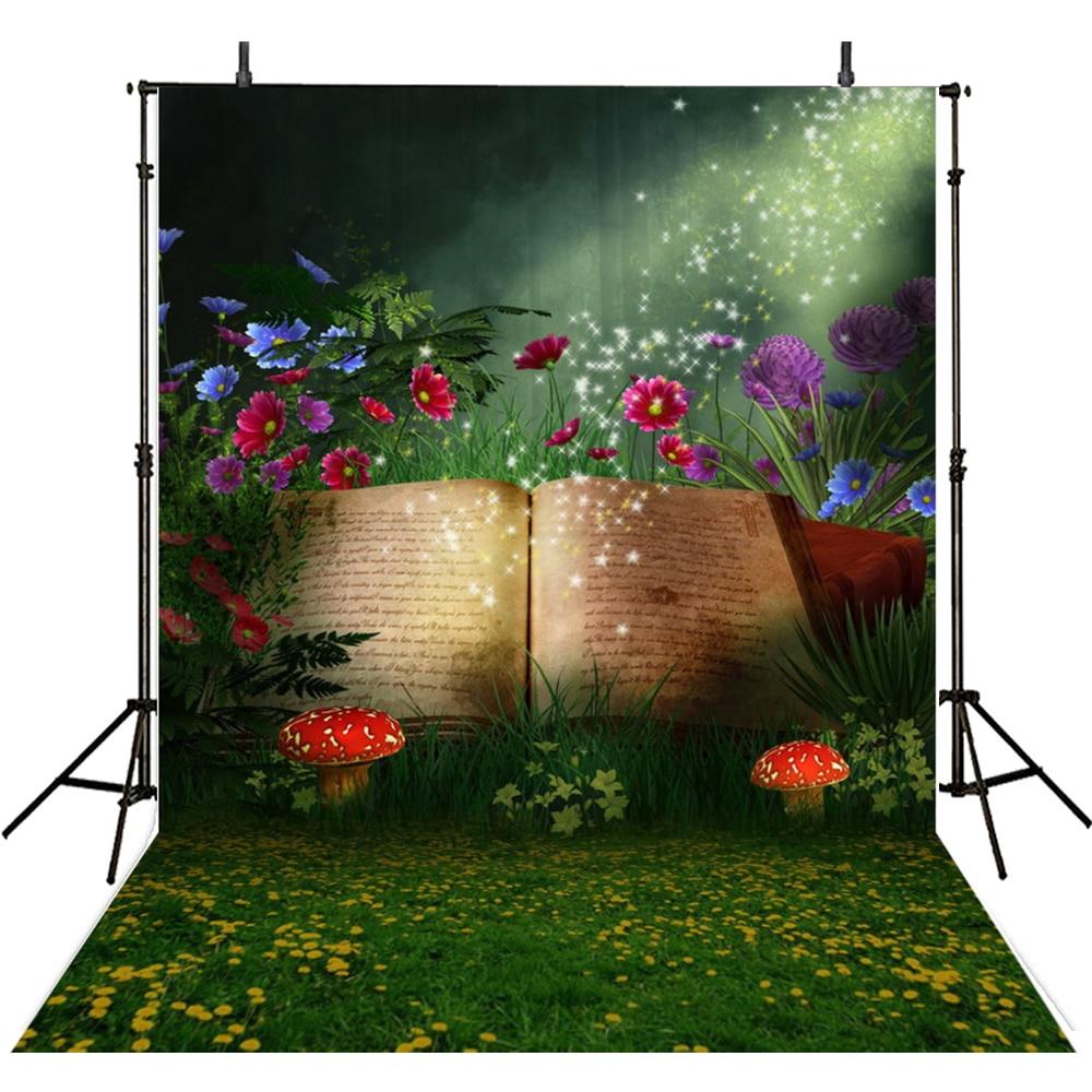 Hot Spring Photography Backdrops Vinyl Backdrop For Photography Alice In Wonderland Background For Photo Studio Foto Achtergrond vinyl wonderland photography backdrop