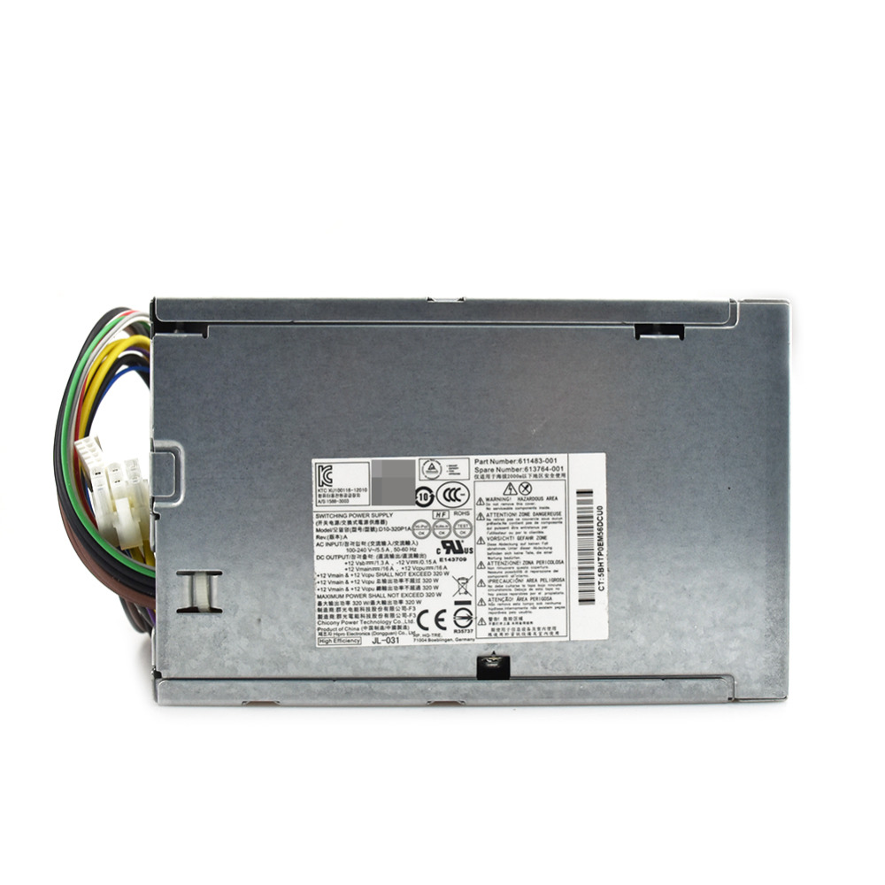 For HP D10 320P2A PS 4321 9HA HP D3201A0 CFH0320AWWA server Power Supply 320W