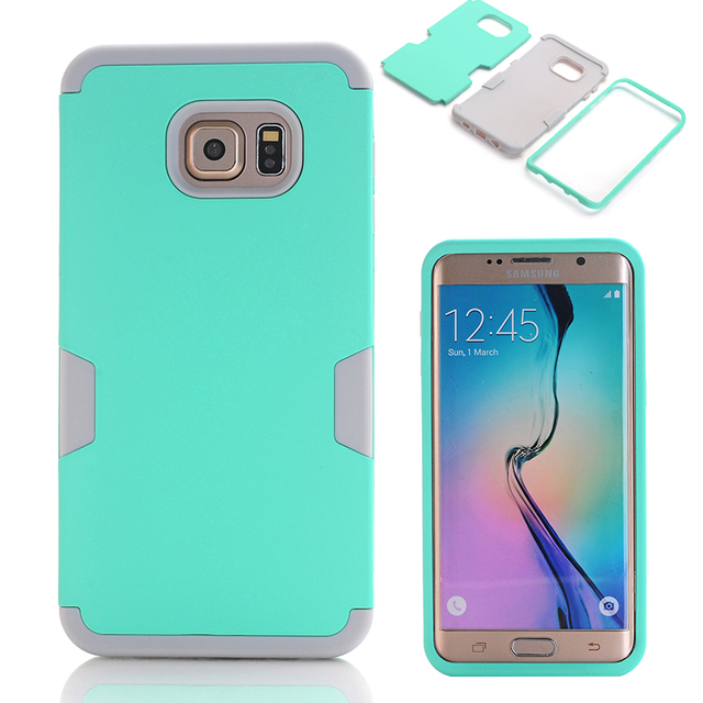 online store bd889 e1646 US $7.99 |For S6 Edge Plus Shockproof Hybrid Armor Rubber Heavy Duty Case  Cover For Samsung Galaxy S6 Edge Plus Phone Cases-in Fitted Cases from ...