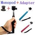 CENINE Extendable Selfie Stick Handheld Palo Perche Selfies Monopod Self Tripod For Gopro Hero 4 3 Xiaomi Yi Sj4000 Accessories