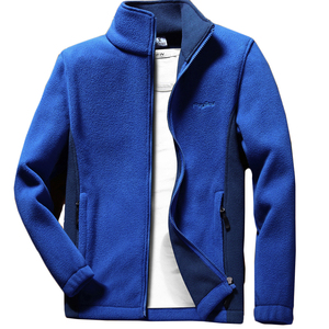 Image 1 - Мужская теплая флисовая куртка Anbican, повседневная весенняя куртка с воротником стойкой, пальто большого размера 6XL, 7XL, 8XL, 9XL, 2019