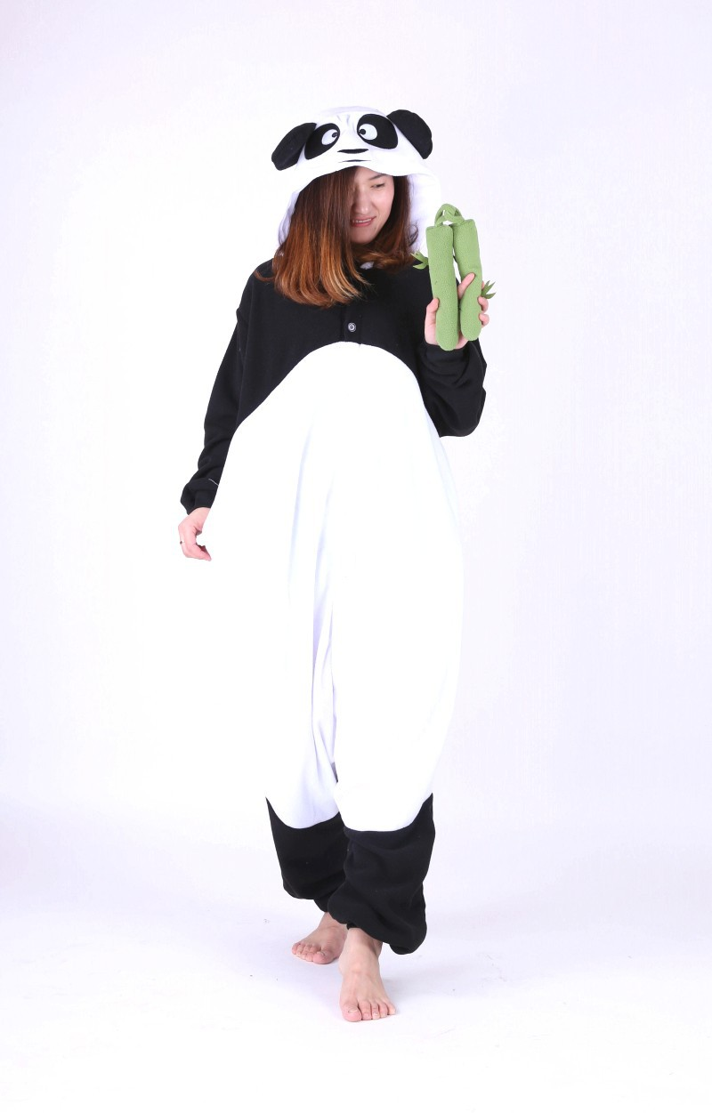 Anime Kong Fu Panda Onesie All in One Women Men s Animal Cosplay Halloween Party Costumes