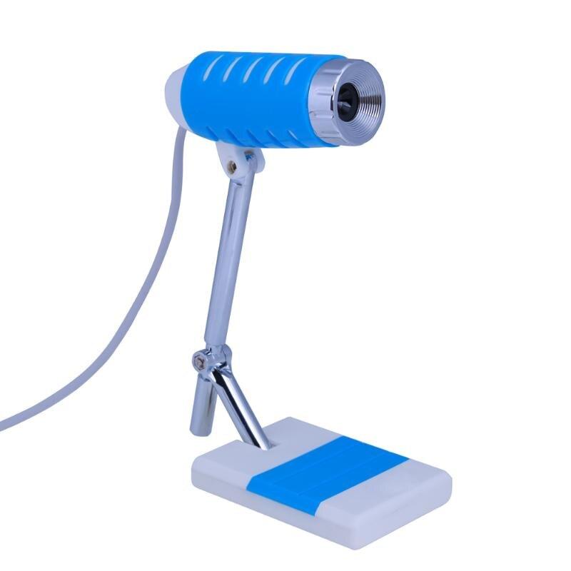 Mini Portable Pliant De Bureau Webcam Portable Ordinateur Portable Ordinateur PC USB Web Caméra avec Mic Microphone pour Windows XP SP2/Vista/7/8
