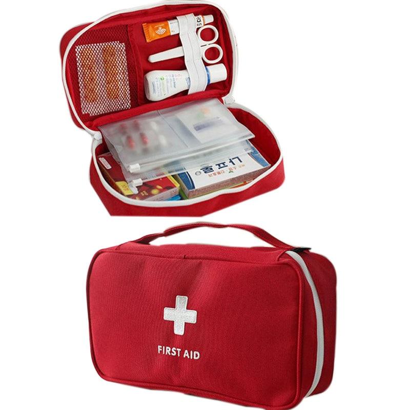 JXSLTC Merk Draagbare Ehbo Tas Emergency Medische Survival Kit - Home opslag en organisatie - Foto 5