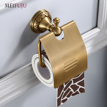 Black Bathroom Paper Holders Toilet Paper Holder Tissue Roll Wall Mounted Toilet Tissue Round Roll Holders Bathroom Accessories xueqin gold bathroom hotel paper holder retro copper wall mounted roll tissue storage shelf towels phone book holders