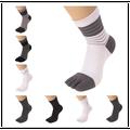 with heel Men cotton toe socks ankle high assorted color Five Fingers five 5 Toe Socks 5 fingers socks