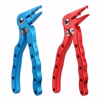 12cm Aluminum Alloy Fishing Pliers Line Cutter Hook Remover Multifunctional Fishing Tools for Crimping / Cutting / Hook Removing