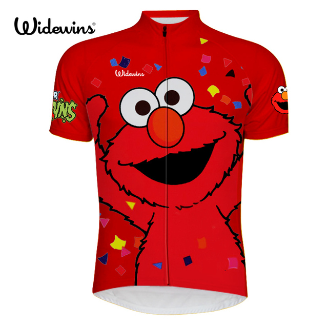 New elmo shirt cycling jersey short sleeve wicking cycling clothing bicycle exercise wear ropa ciclismo maillot Quick Dry 6515
