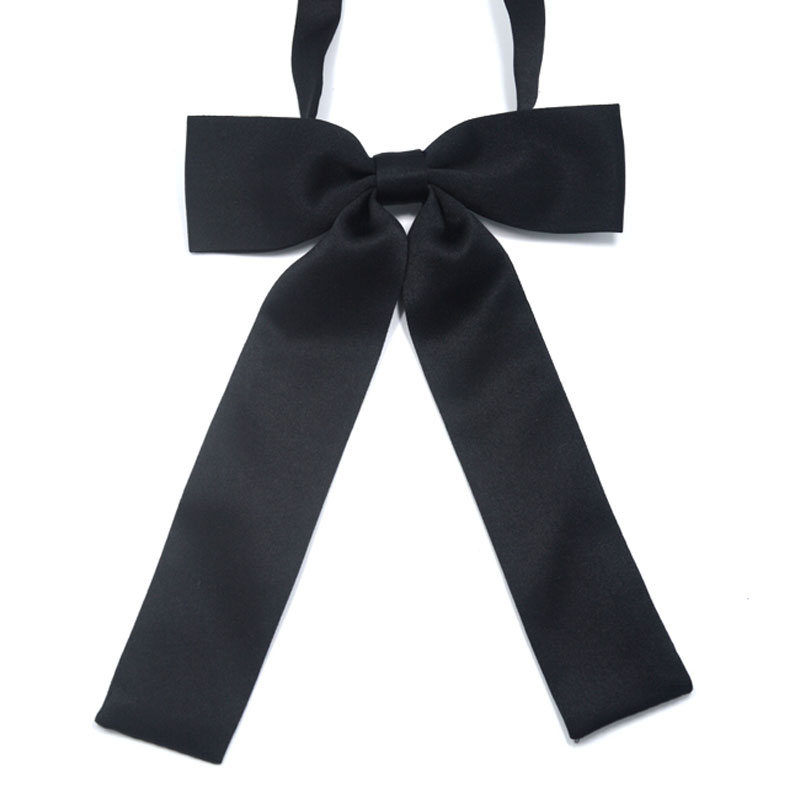 JK Bow Tie Uniform Accessories Japanese High School Girls Neck Rope Butterfly Knot Cravat Preppy Chic
