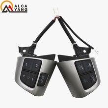 For TOYOTA COROLLA ADE150 NDE150 NRE150 ZRE15* ZZE150 2007-2013 Steering Wheel Audio Control Button Airbag Clock Spring
