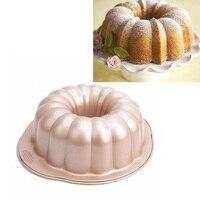 MyLifeUNIT Large Nonstick Bundt Cake Mold Pan 10 Inch Pumpkin Cake Pan Bread Bakeware Mold baking tools