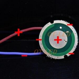 Image 4 - Luminus SST 50 LED Emettitore 15W Bianco Freddo 6500K Bianco Caldo Chip di lampadina a diodi 20 millimetri di rame di base + 1 modalità di SST50 circuito del driver